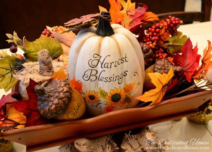 104 best captivating fall decorating ideas interior images for Modern fall table decorations