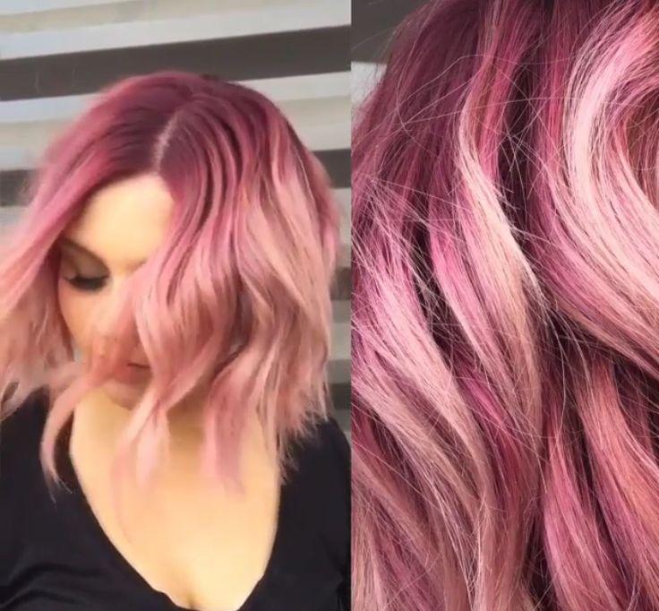 Pink Shadow Root Hair Pinterest Pastel Hair Hair