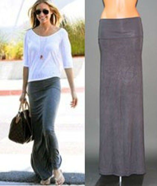 48 best Jersey midi skirt outfits images on Pinterest