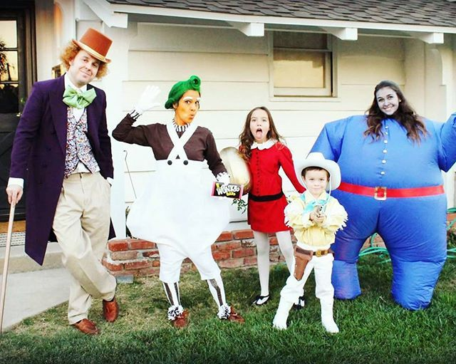 Image result for charlie and the chocolate factory costumes