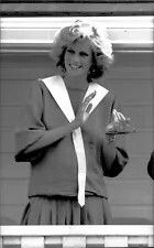 1984: Vintage photo of Princess Diana at a polo match... pregnant with Prince Harry.