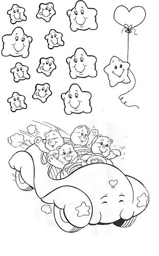 Unique Care Bear Coloring Book Composition - Printable Coloring ...