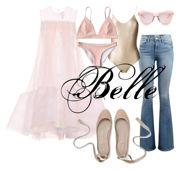 Ballet inspo by illetilmote on Polyvore featuring HUISHAN ZHANG, Frame, Oséree and Karen Walker