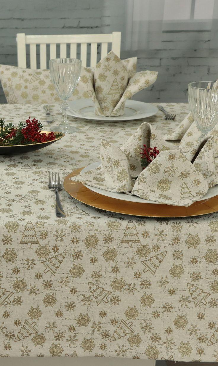 50 besten Weihnachtstischdecken von www.Tischdecken-Shop.de Bilder ...