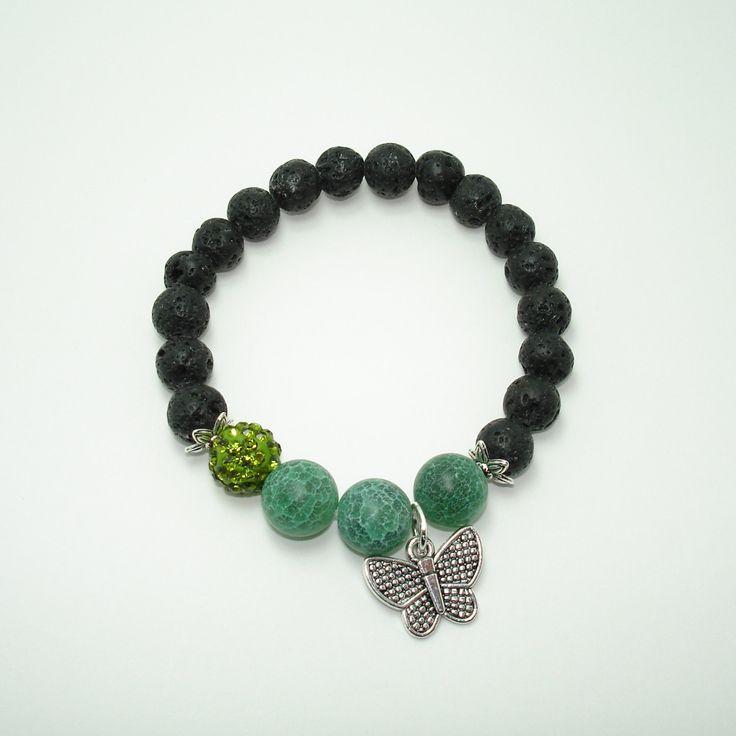 Yoga Jelwery, Healing Jewellery, Pre Teen Gift,Buddhist Bracelet,Volcanic Stone, Lava Rock Bracelet,Wrist Mala Beads,Gemstone,Agate bracelet de Mainashiki en Etsy