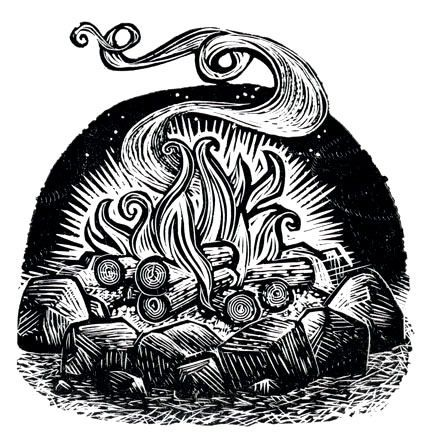 """Campfire"" Rick Allen"