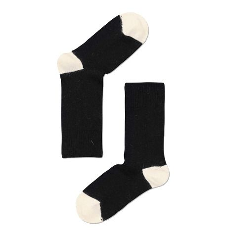 Image of Black Angora socks by Happy Socks