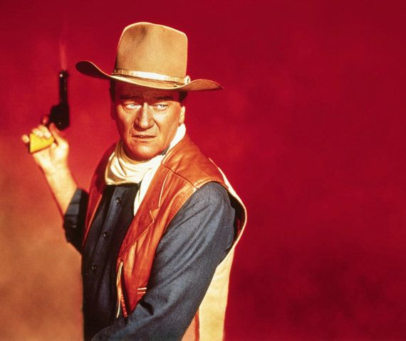 Great 8 x 11'' Print of John Wayne from the film el dorado   FEATURES : High Gloss Photo Long Lasting Fade Resistant Cardboard Baking