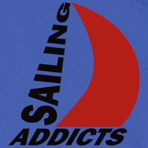 Crewneck black logo Sailing Addicts TM