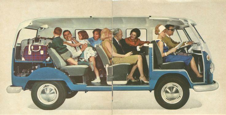 VW Bus cutaway