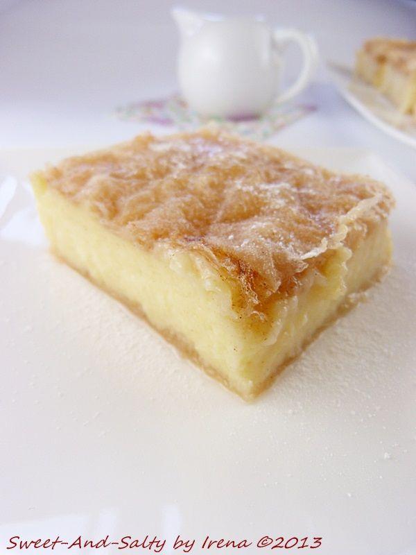 ... lemon semolina custard in phyllo recipes dishmaps lemon semolina