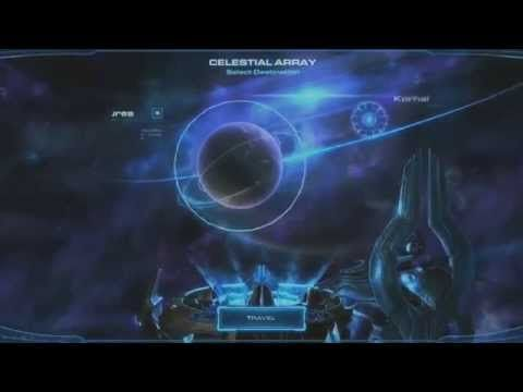 StarCraft II: Legacy of the Void. Celestial Array scene (rus sub) - YouTube