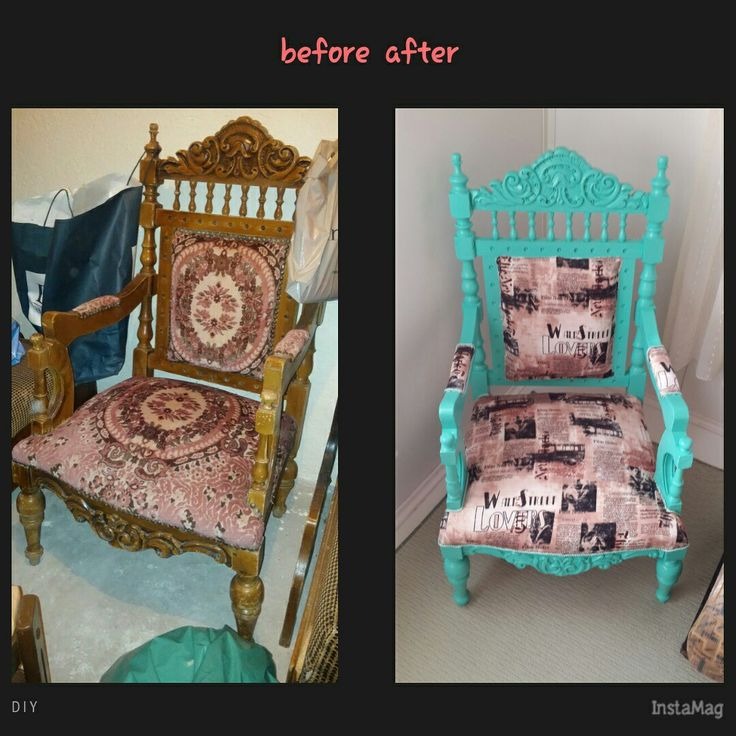 painting furniture berjer boyama