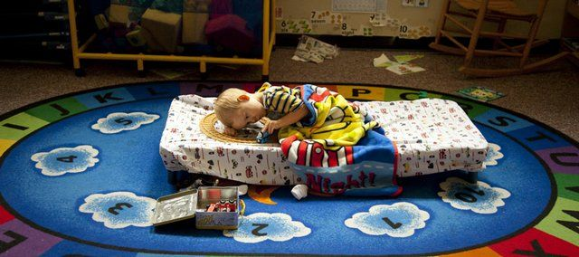 Nap time tips for daycare and preschool naptime daycare for Home economics classroom decorations