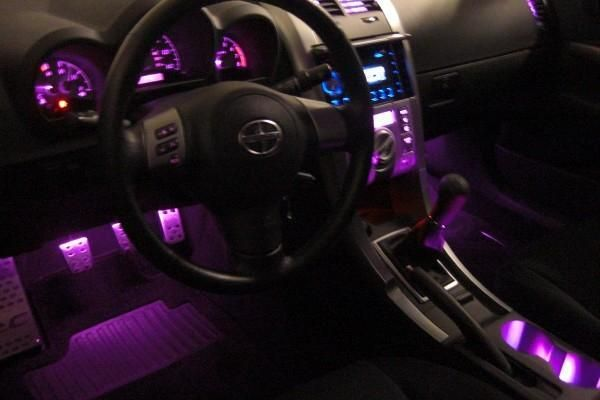 Hmm. Can I make my dash lights be pink instead of green?