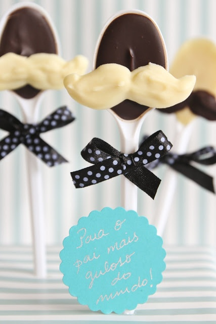 DIY Father's Day Chocolate Bouquet