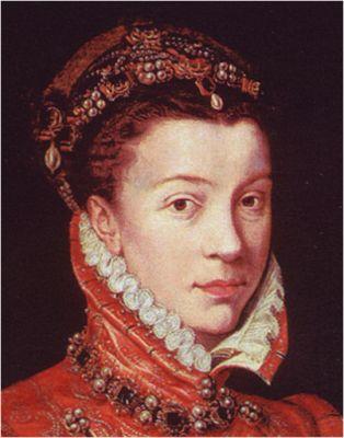 1560. Isabel de Valois, Antonio Moro