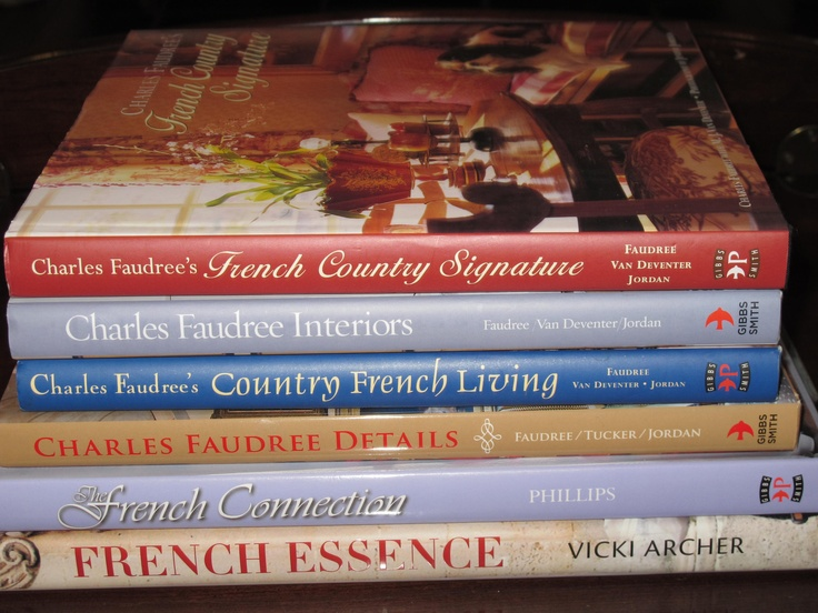 French Design Books ~ Yep, have all of these