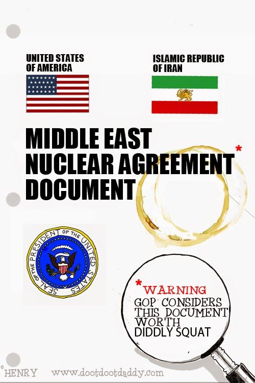 dootdootdaddy: USA-IRAN Middle East Nuclear Agreement Document