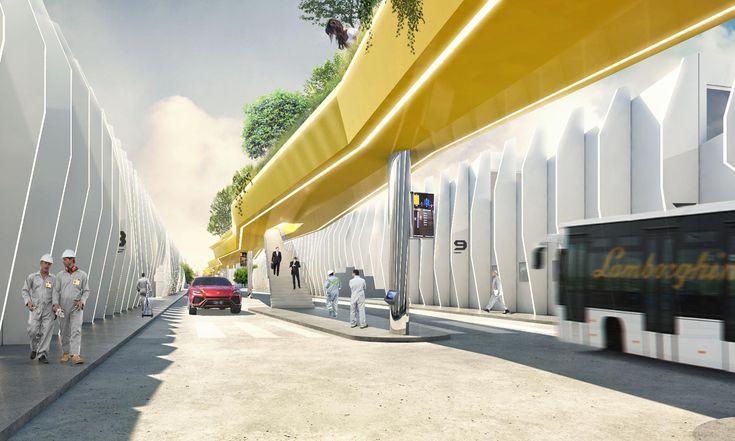 Fabio Novembre navrhl redesign italského kampusu automobilky Lamborghini