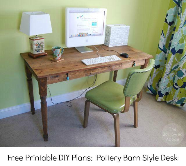 32 best images about free desk plans on pinterest desk. Black Bedroom Furniture Sets. Home Design Ideas