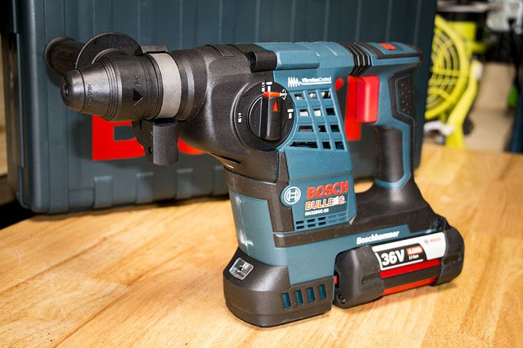 Bosch RH328VC-36K 36V SDS-Plus Bulldog Rotary Hammer  No tool is perfect, but I don't have any complaints about the Bosch RH328VC-36K. Bosch has dialed in the combination of power, run time, and ergonomics while managing the trade-offs in a way that suits my crew beautifully.   #BoschTools #Bosch #SDSPlus #rotaryhammer #tools #powertool #cordlesstools #36V #concrete #masonry #asphalt  https://www.protoolreviews.com/tools/power/cordless/rotary-hammers/bosch-rh328vc-36k-s
