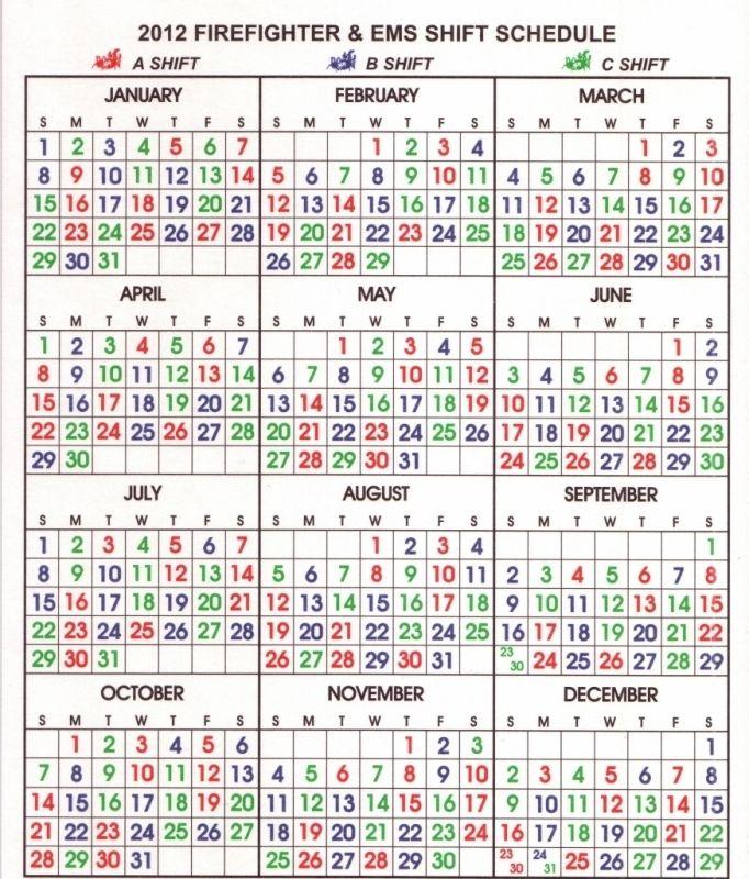 Shift Calendar Templates Free Calendar Template Free