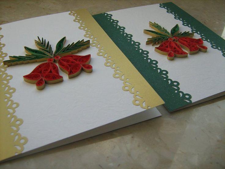 kartka Bożonarodzeniowa - Quilling