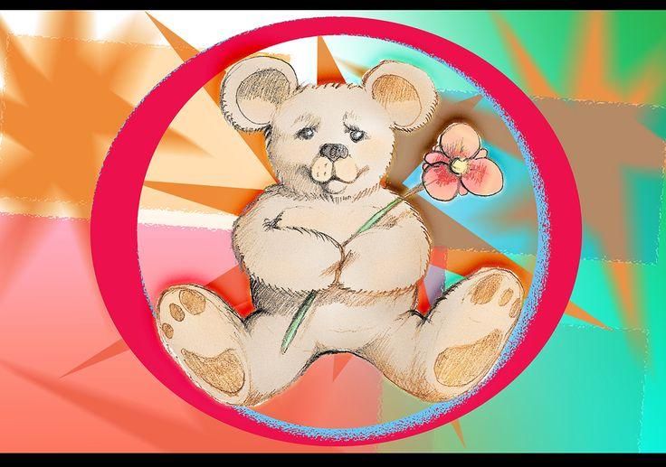 Teddy card - nallekortti