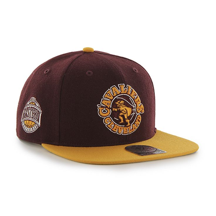 Grab this 47 Brand Dark Maroon/Yellow Cleveland Cavaliers Sure Shot Two Tone 47 Captain Cap! Go get it now at www.TheCapGuys.com. #clevelandcavaliers #47brand #sureshot #47 #captain #cavaliers #logo #snapback #baseball #hat #cap #maroon #white #cleveland #swag #me #style #tagsforlikes #me #swagger #jacket #shirt #dope #fresh