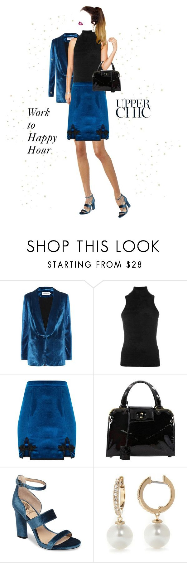 """""""Transitioning Roles"""" by shellygregory ❤ liked on Polyvore featuring self-portrait, Antonio Marras, Yves Saint Laurent, Vince Camuto and Kate Spade"""