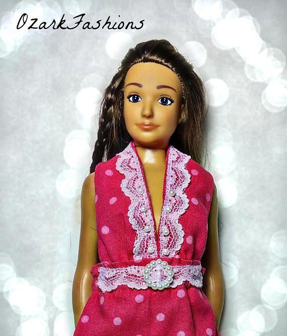 Lammily Doll Clothes  Handmade Dress for Lammily Doll