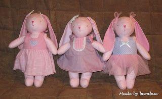 bambuc: Húsvéti nyulak rózsaszínben:-)