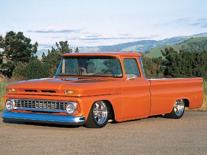 1963 Chevy C10 Pickup - 17 Inch Rims - Truckin' Magazine