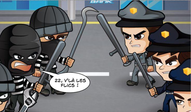 Cops versus robbers : 22 V'là les flics !