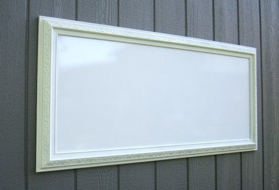 EXTRA LARGE WHITEBOARD 53x29 Wedding Menu Board by RevivedVintage