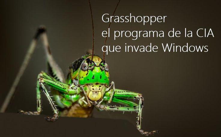 #Seguridad #windows Grasshopper, la herramienta que la CIA usa para hackear Windows