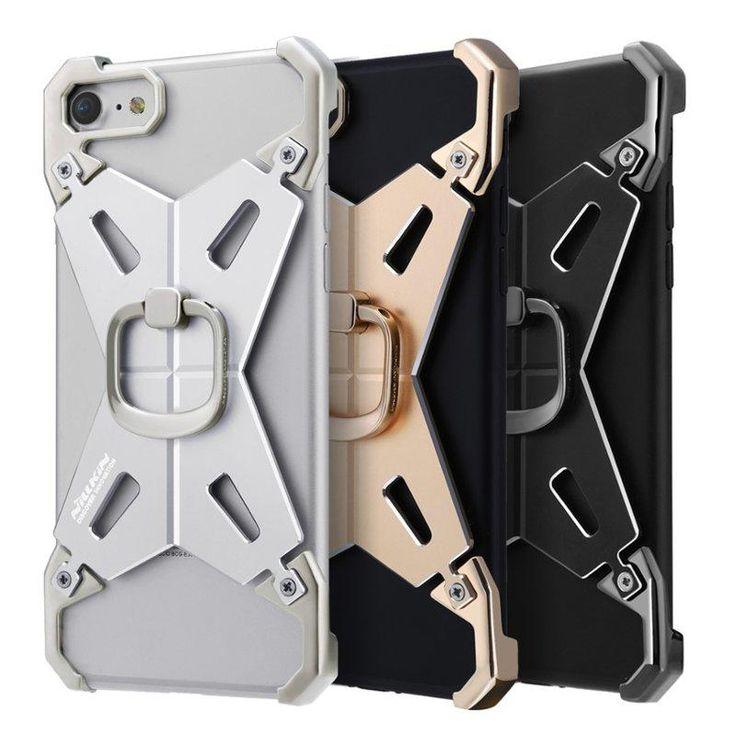 "NILLKIN Metal Bumper Frame Ring Bracket Holder Case For iPhone 7 4.7""…"