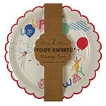 Toot Sweet Children's Plate. Perfect for our kites, balloons and festive things in flight party theme.