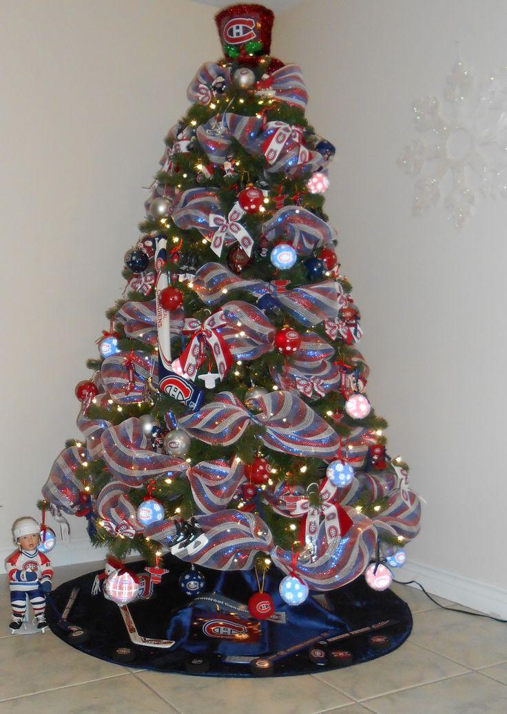 Montreal Canadiens Christmas Tree