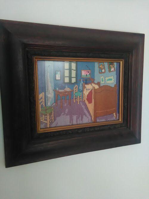 Van Gogh punto cruz
