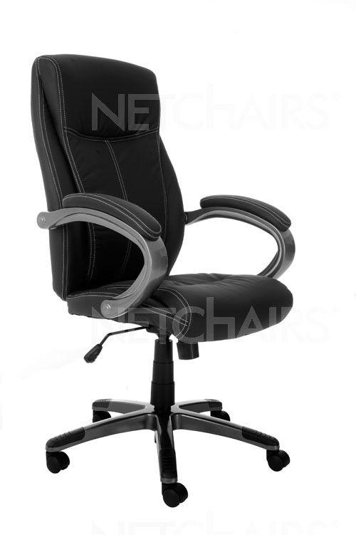 Cadeira Escritório Presidente Padding Giratória com Rodinhas, Reclinável, Função Relax com Regulagem de Altura a Gás - 6750