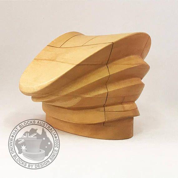 Lauren Hand Made Vintage Reproduction Puzzle Hat Block By Hat Blocks Australia Millinery Hat Making Hat Mould Millinery Hat Blocks Hat Making