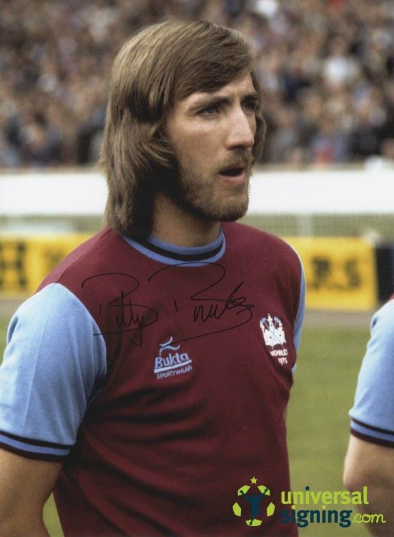 Former West Ham player and manager, Billy Bonds.