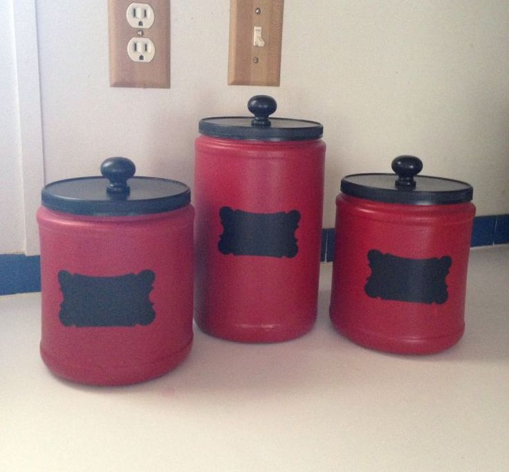 31 best Coffee cans/plastic craft ideas images on Pinterest | Plastic coffee containers, Plastic ...