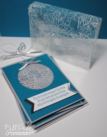 clear box with Envelope Punch Board