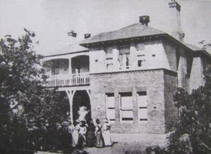 Birthplace of Errol Flynn - Queen Alexandra Hospital in Hobart, Tasmania, Australia.