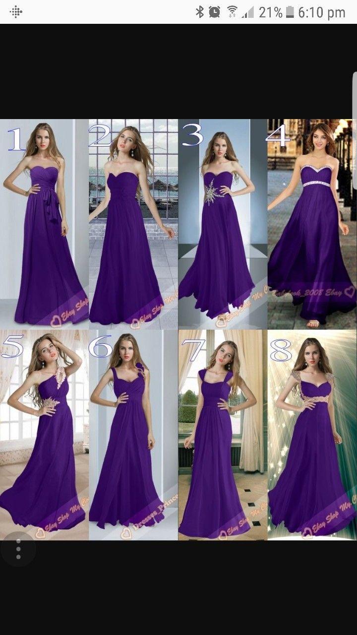 Pin By Giustina Sacco On Wedding Ideas Purple Chiffon Bridesmaid