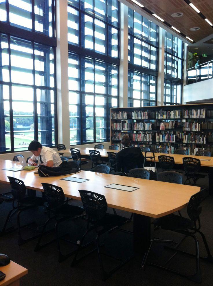 Study Area - Newington College Library