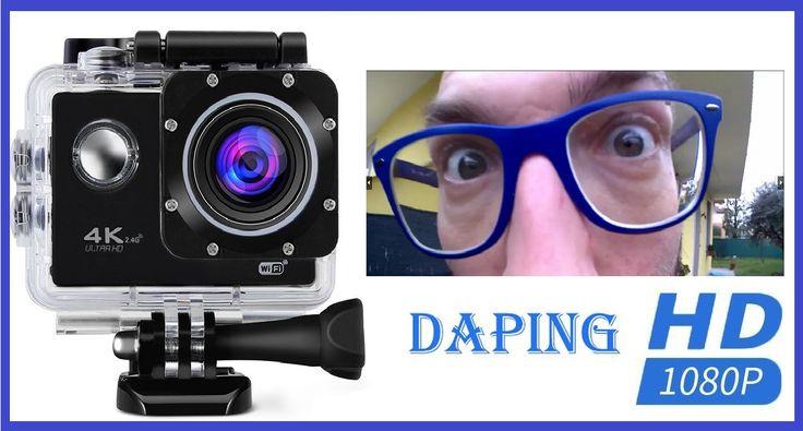 [Recensione] Action Cam FHD 1080P Daping Videocamera 4K sulla carta, ma è davvero così?